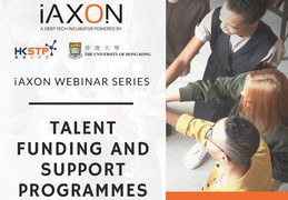 iAXON Webinar Series: Talent Funding and Support Programmes