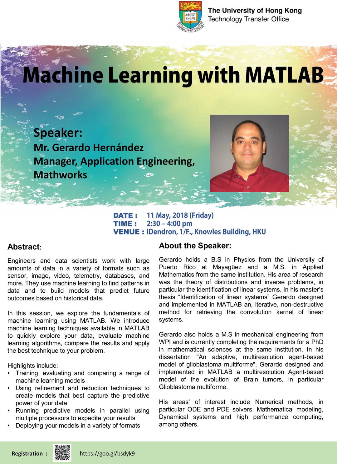 Machine Learning with MATLAB by Mr  Gerardo Hernández