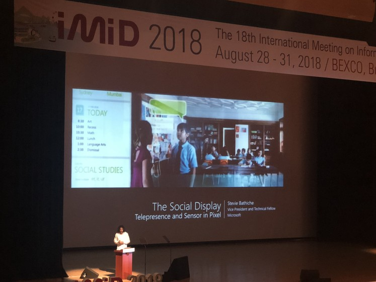 IMID 2018 (27–31 August, 2018), Busan, South Korea gallery photo 7