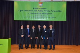 Public Lecture : Open Innovation and Public-Private Partnerships