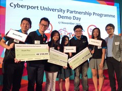 "Winners of the inaugural Cyberport University Partnership Programme (""CUPP"")"