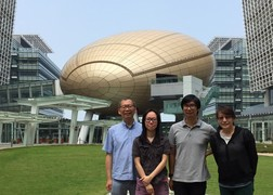 (From left) Dr Sunny Cheng, Dr Annie Cheng, Dr Daniel Chik and Dr Barbara Chan