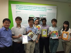 (From left) Dr Wilton Fok, Eric Au Yeung, Alan Chiang, Paul Wong, Shravan Sunderraman, Ken Law and Alison Tang