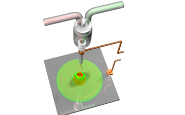 Efficient and Rapid Mixing of Highly Viscous Fluids